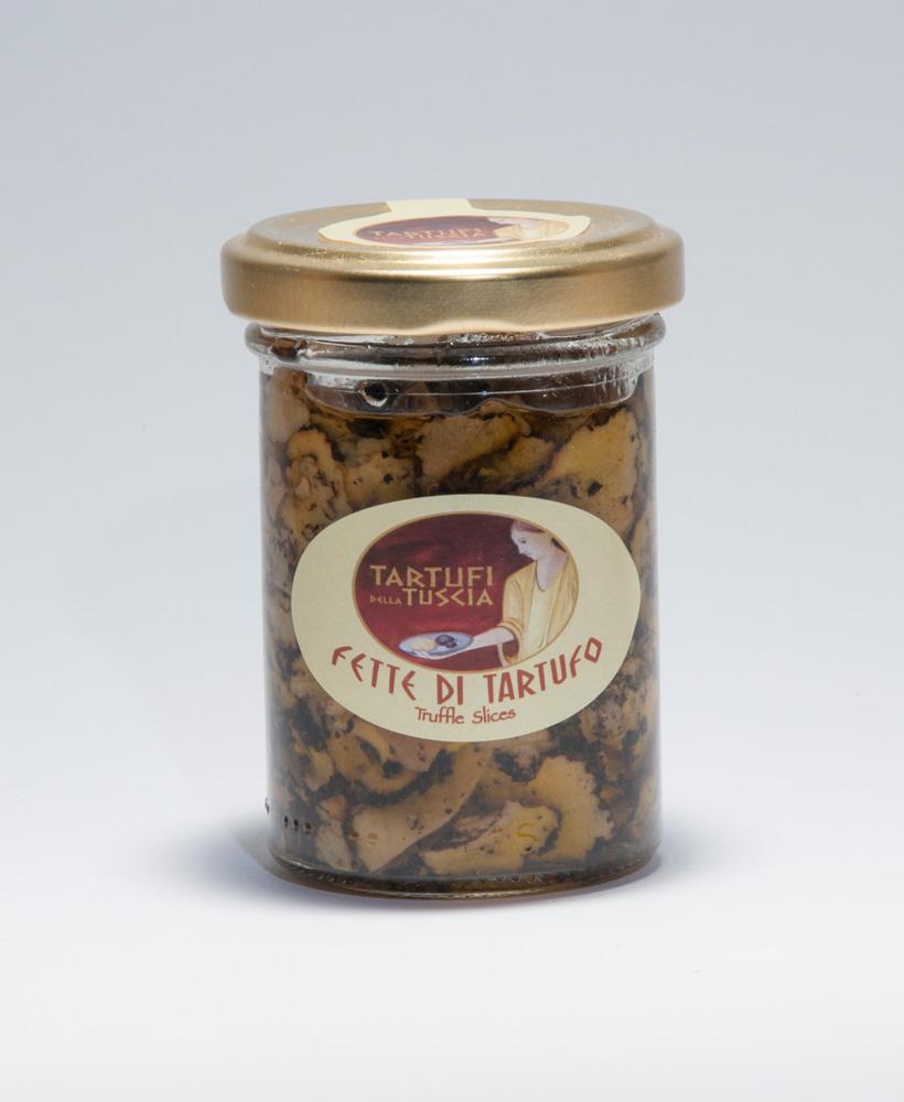 Fette di tartufo in olio extravergine di oliva gr. 80
