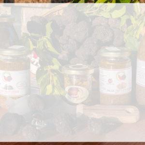 Prodotti alimentari al tartufo